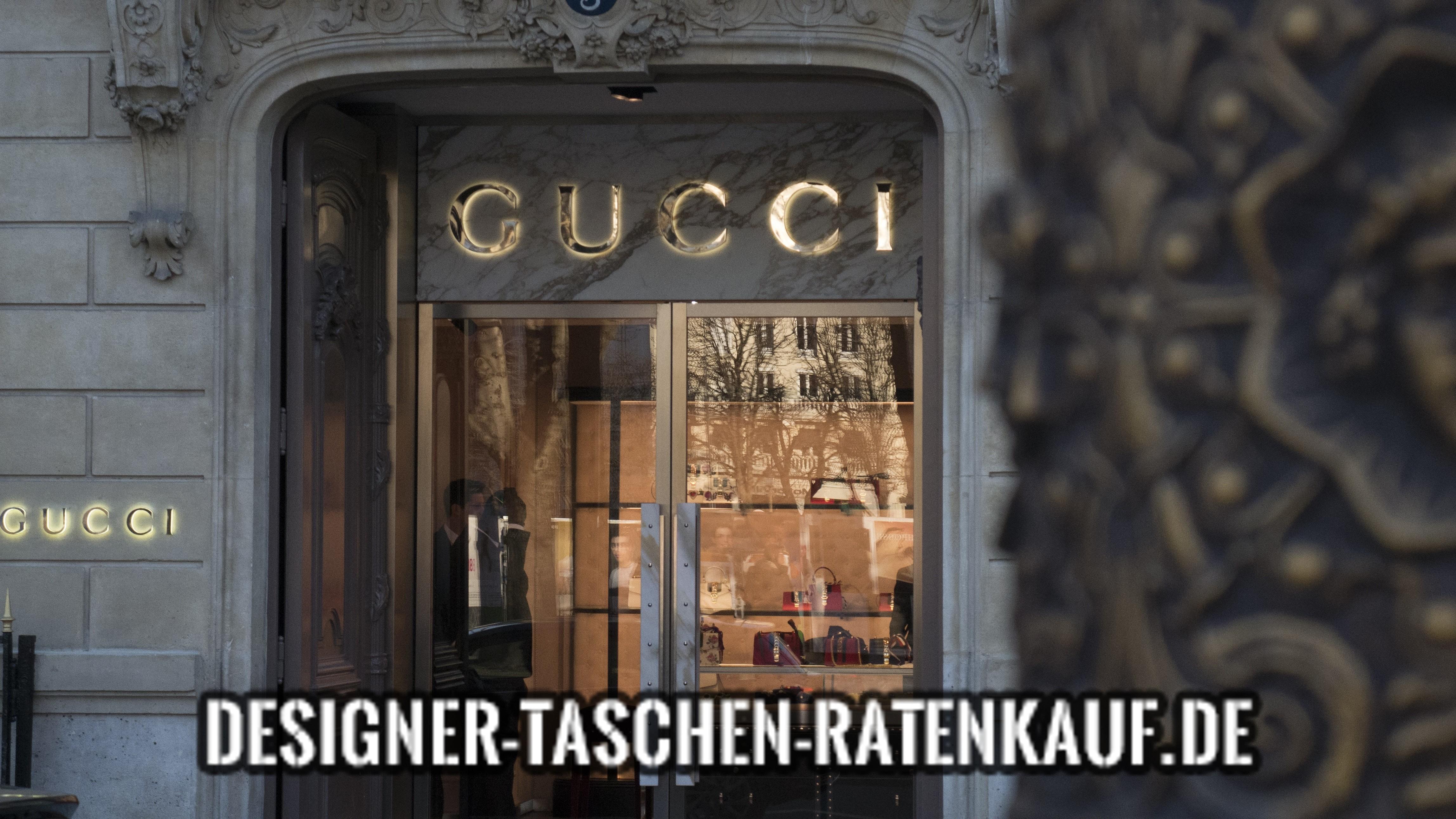 Gucci Tasche finanzieren